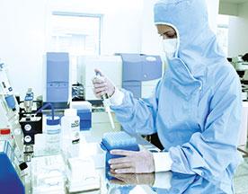 salles blanches realisation laboratoire