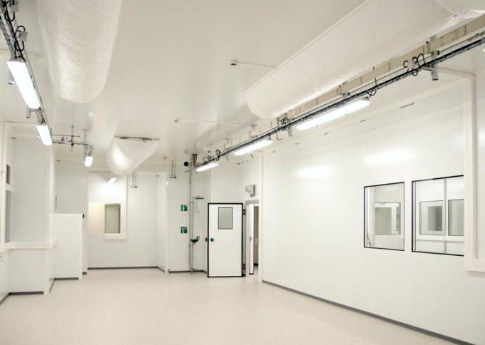 CEA LITEN salle anhydre pour le centre de recherche de Grenoble