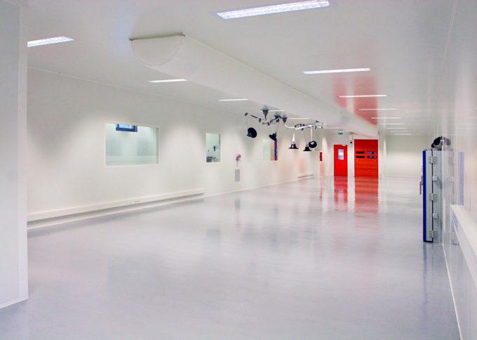 VÊPRES réalise pour PROGRESS Silicones deux salles blanches ISO7 et ISO8 dans des délais très courts.