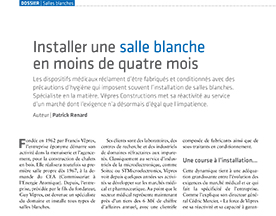 Un bel article dans DeviceMed !
