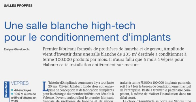 Article de presse DeviceMed