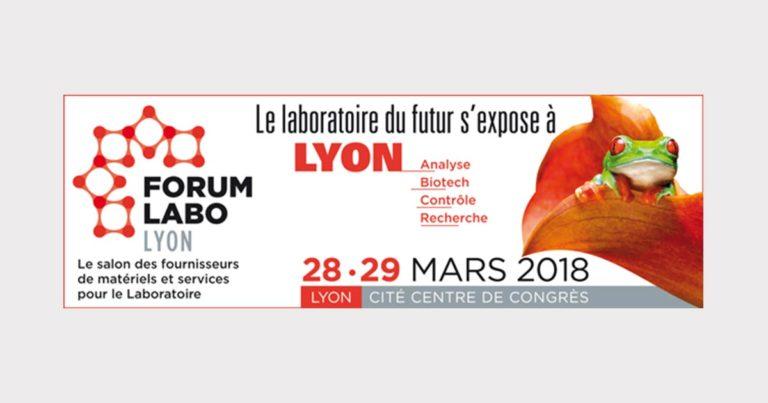 Retrouvez-nous au Forum LABO BIOTECH 2018