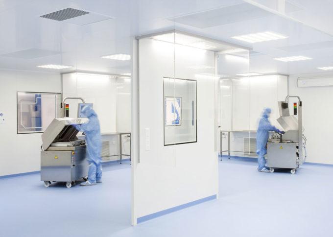 Un projet de salle blanche ISO7 sur mesure pour Amplitude