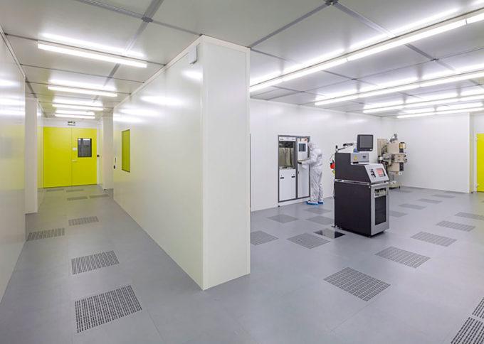 ESIEE Paris réalisation d'une salle propre ISO7