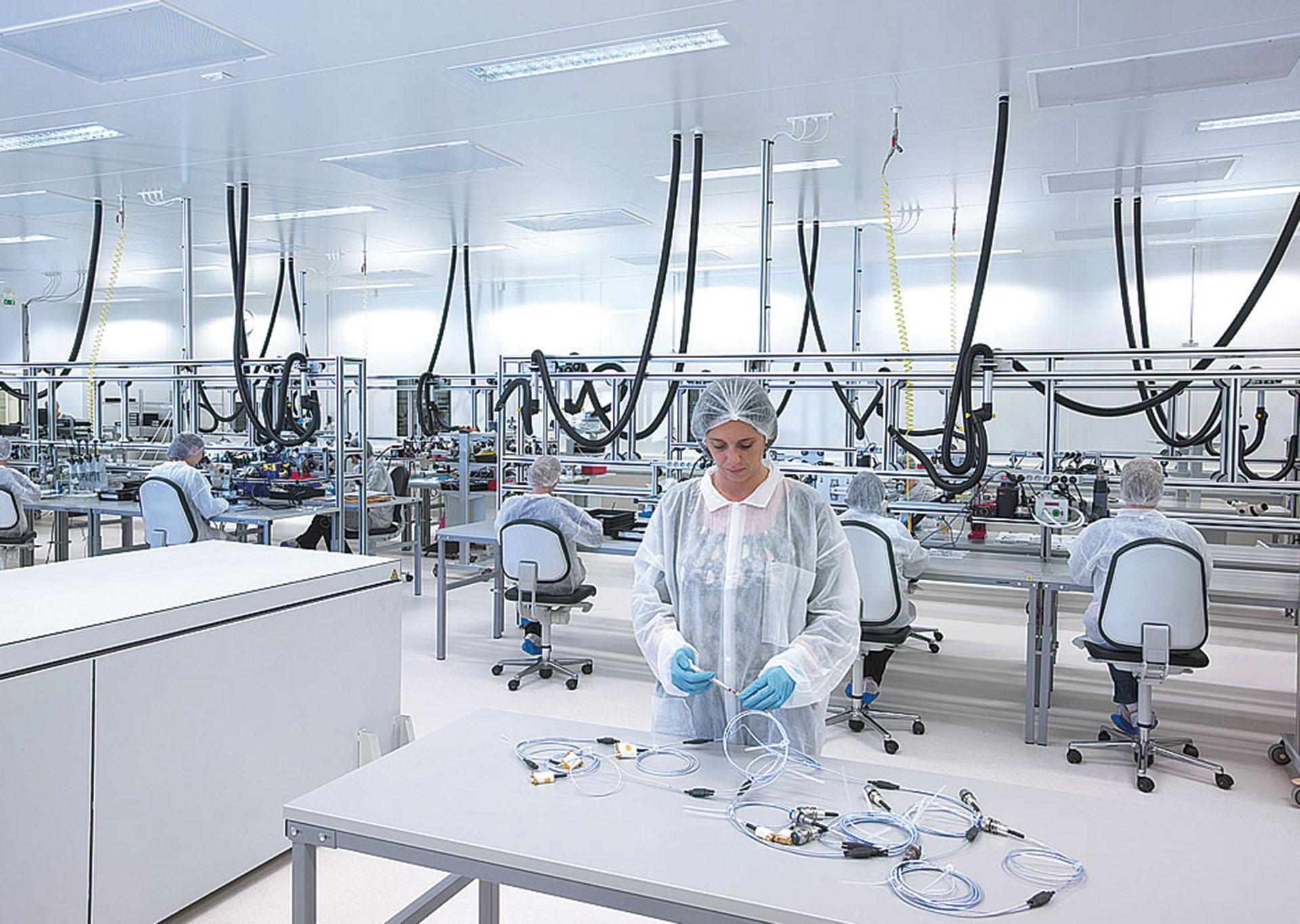 salle blanche ou laboratoire