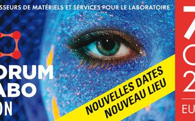 Retrouvons-nous au FORUM LABO 2020 à Lyon
