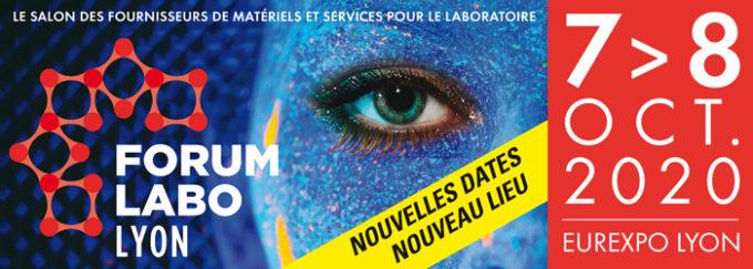 Salon FORUM LABO Lyon reporté en octobre