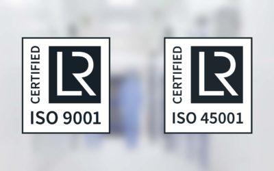 Deux certifications ISO pour Vêpres !